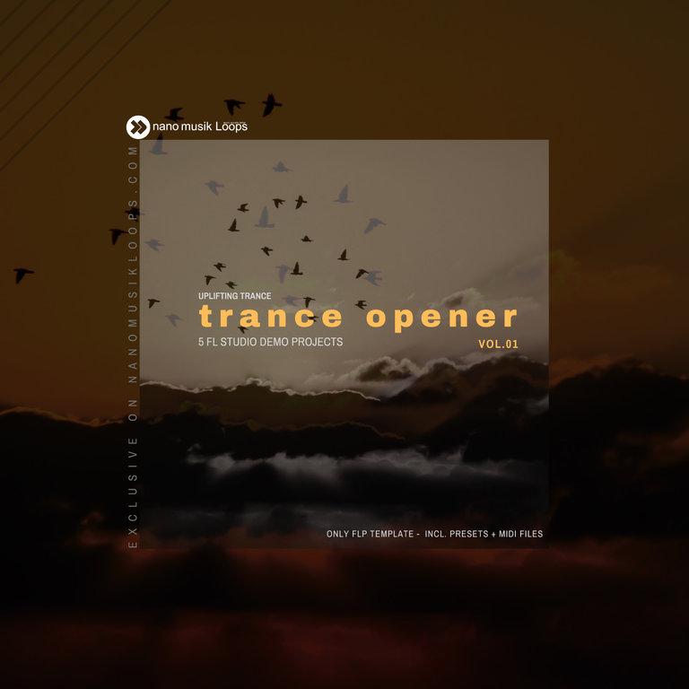 Trance Opener Vol 1 MIDI PACK