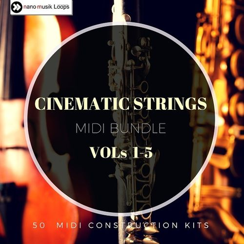 Cinematic Strings MIDI Bundle Vols 1-5