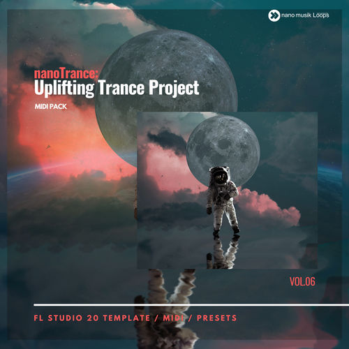 nanoTrance - Uplifting Trance Project Vol 6 MIDI PACK