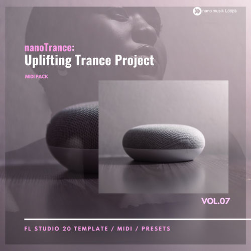 nanoTrance: Uplifting Trance Project MIDI PACK Vol 7