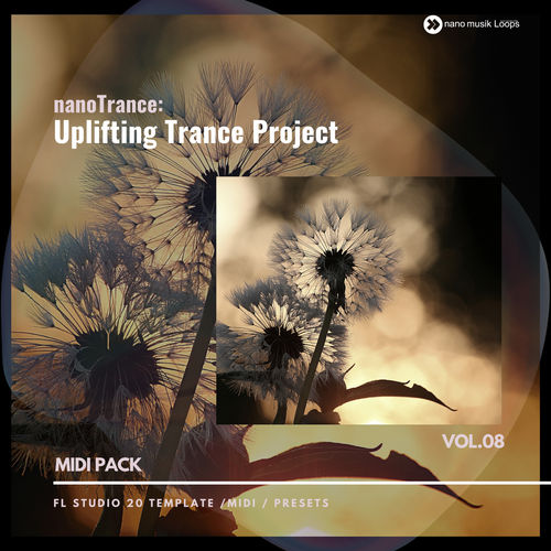 nanoTRANCE Uplifting Trance Project Vol 8 MIDI PACK