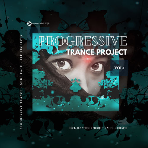 nanoTrance Progressive Trance Project MIDI PACK Vol 1
